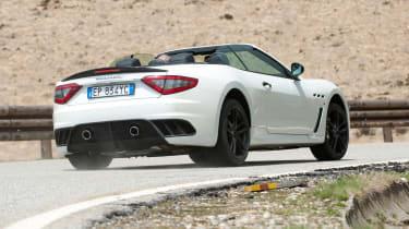 2013 Maserati GranCabrio MC rear