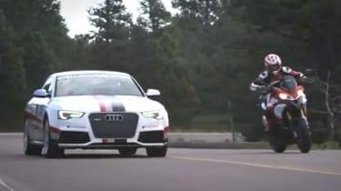 Audi and Ducati Pikes Peak video