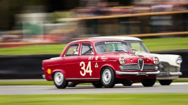 Goodwood revival 2017 - Meaden and an Alfa Romeo