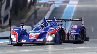 Ginetta-Zytek racing