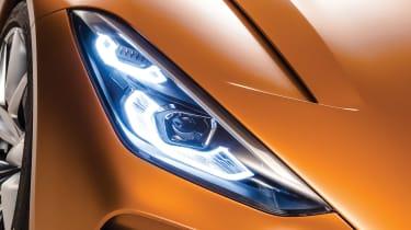 BMW Z4 Concept - headlight