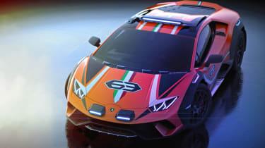 Lamborghini Huracan Sterrato - front