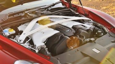 Aston Martin Vanquish engine