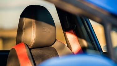 Subaru WRX Final Edition – headrest