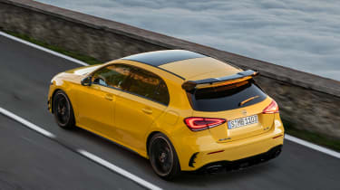 Mercedes-AMG A35 - rear quarter