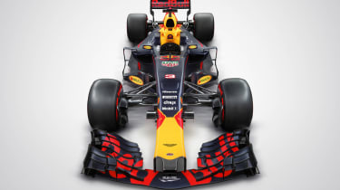 Red Bull car front