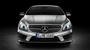 Mercedes-Benz CLA front