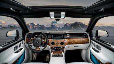Rolls Royce Cullinan - dash