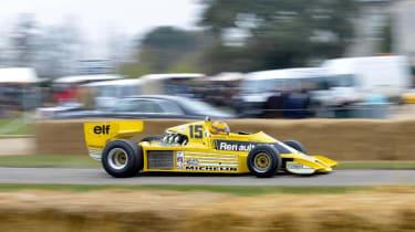 Goodwood Festival of Speed 2013 Renault Turbo F1 car