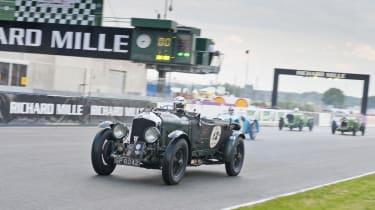 Derek Bell and Mission Motorsport
