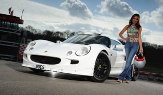 evo me and my car: Sona Lewis and her Exige
