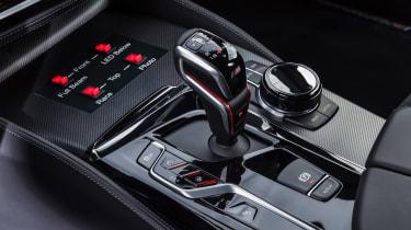 BMW M5 M Performance parts - console 2