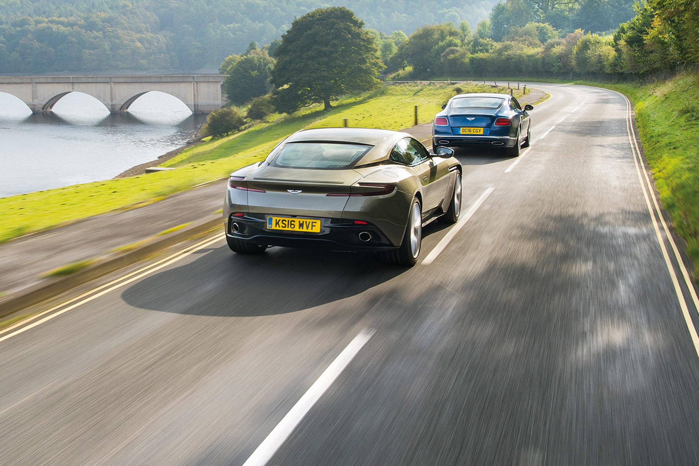 Aston Martin Db11 Vs Bentley Continental Gt Speed Evo