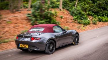 Mazda MX-5 Z-Sport – rear quarter - tracking