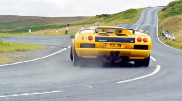 Lamborghini Diablo drift
