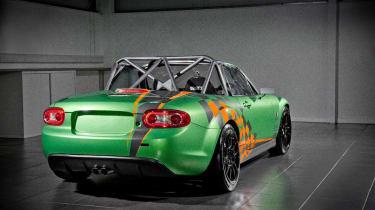 Mazda MX-5 GT racing car