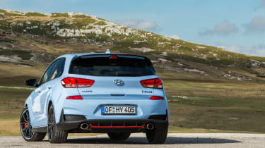 Hyundai i30 N  - rear quarter static