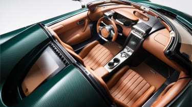 Koenigsegg Regera - interior