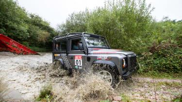 Overclockers UK Racing Series - Palmer Sport Land Rover Defender