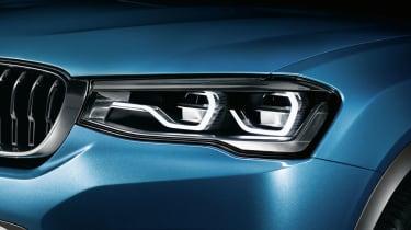 2014 BMW X4 Concept headlights