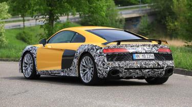 Audi R8 facelift - rear quarter