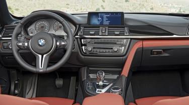 BMW M4 Convertible interior dashboard