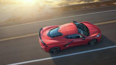 2020 Chevrolet Corvette C8 top dynamic