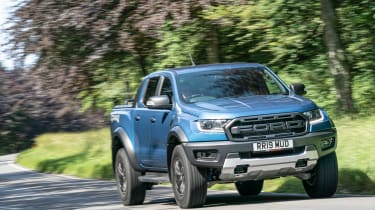 Ford Ranger Raptor UK - front quarter