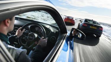 Audi TT RS group test