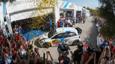WRC Spain Ogier and Ingrassia