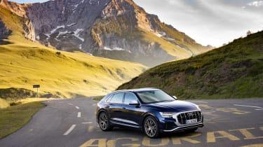 Audi SQ8 TDI review - quarter