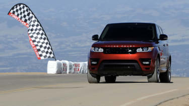 2014 Range Rover Sport sets Pikes Peak production-car record