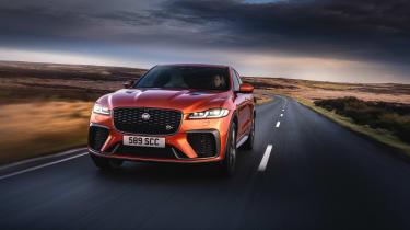 Jaguar F Pace SVR 2021 review - 3