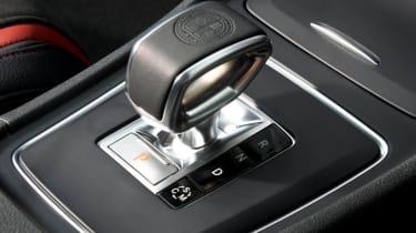 Mercedes A45 AMG gear selector