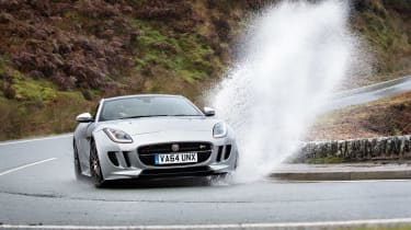 Sub-supercar group test - F-Type R AWD