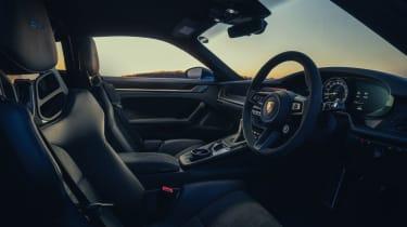 992 Porsche 911 GT3 interior