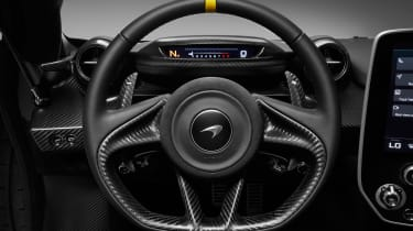 McLaren Senna MSO – steering-wheel