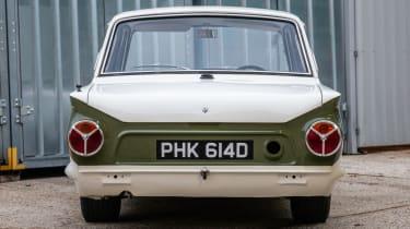 1966 Lotus Cortina Group 5  rear
