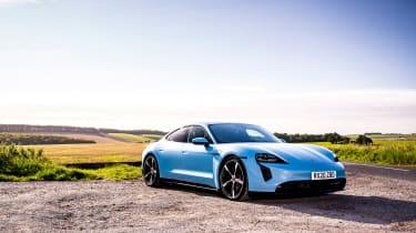Porsche Taycan 2021 review - 4S static