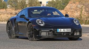 Porsche 911 Turbo spy 2017 - front