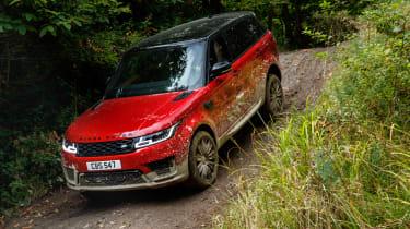 Range Rover Sport - off road front quarter