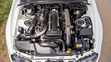 A80 Toyota Supra engine bay