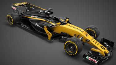Renault Sport R.S.17 2017 Formula One car high