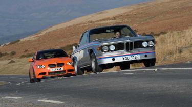BMW M3 GTS v BMW 3.0 CSL