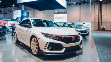 SEMA 2017 - Honda Civic Type R
