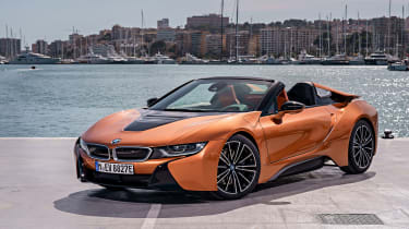 BMW i8 Roadster - quarter