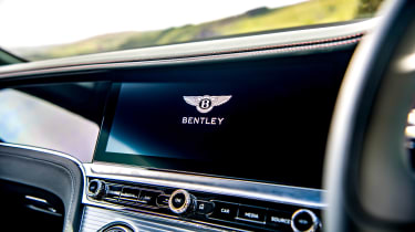 Bentley Continental GT review – green display