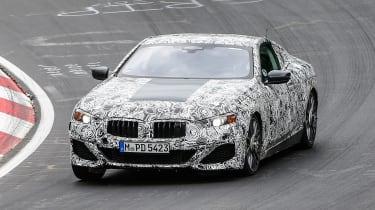 BMW 8-series Nurburgring