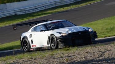 New Nissan GT-R GT3 racing car