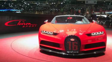 Bugatti Chiron Sport –front
